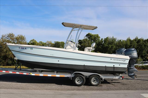 Used World Cat 23 Carolina Cat with twin 115hp Yama ... Power Catamaran Boat For Sale