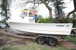 Used Force Boats 21 Pilothouse Boat For Sale
