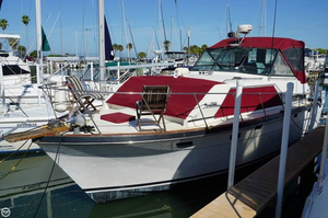 Used Trojan 36 Tri Cabin Express Cruiser Boat For Sale