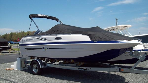 New Starcraft Coastal 2009 OB Deck Boat For Sale