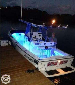 Used Shamrock 22 Open Center Console Fishing Boat For Sale