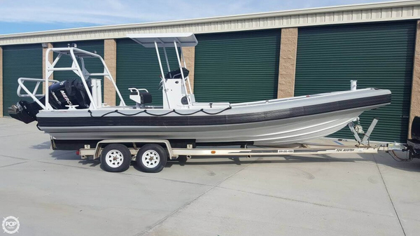 Used Silver Ships 26 Center Console Fishing Boat For Sale