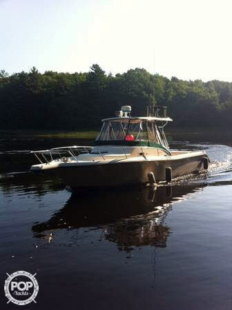 1996 used pursuit 2850 walkaround fishing boat for sale for Used fishing boats for sale near me