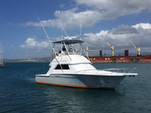 Used Bertram 37 Convertible Saltwater Fishing Boat For Sale