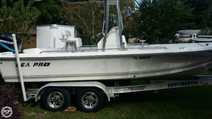 Used Sea Pro 2100 SV Center Console Fishing Boat For Sale