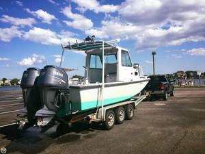 Used Boston Whaler 25 Challenger Walkaround Fishing Boat For Sale