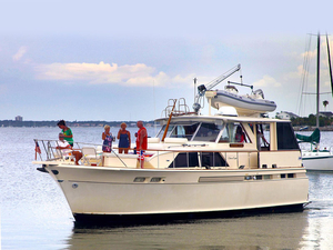 Used Chris Craft 47 Commander Aft Cabin Boat For Sale