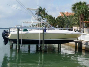 Used Intrepid 377 Walk Around Cuddy Cabin Boat For Sale