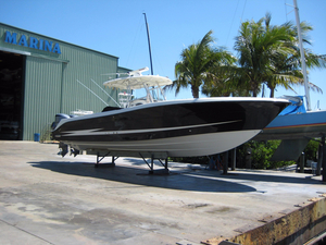 Used Hydra-Sports 3300 CC Vector Saltwater Fishing Boat For Sale