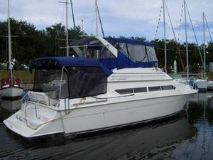 Used Carver 380 Santego Flybridge Boat For Sale