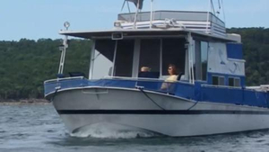 Used River Queen 40;apos; Houseboat House Boat For Sale