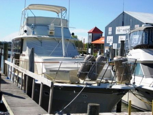 Used Hatteras Double Cabin W/diesels Motor Yacht For Sale