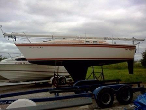 Used Hunter 25.5 Sailboat Racer and Cruiser Sailboat For Sale