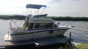 Used Bayliner 2850 Command Bridge Sports Cruiser Boat For Sale