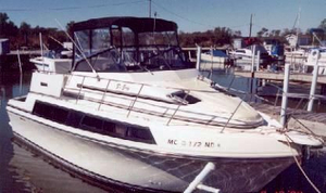 Used Carver 32 Mariner Convertible Fishing Boat For Sale