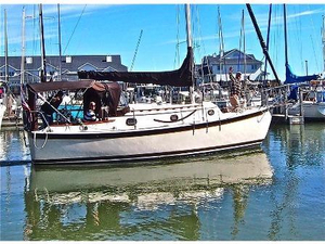 Used Hutchins Com-pac Yacht Cruiser Sailboat For Sale