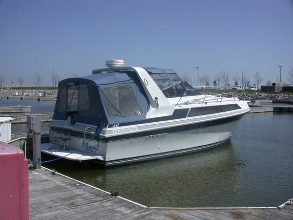 Used Carver 3257montego Express Cruiser Boat For Sale