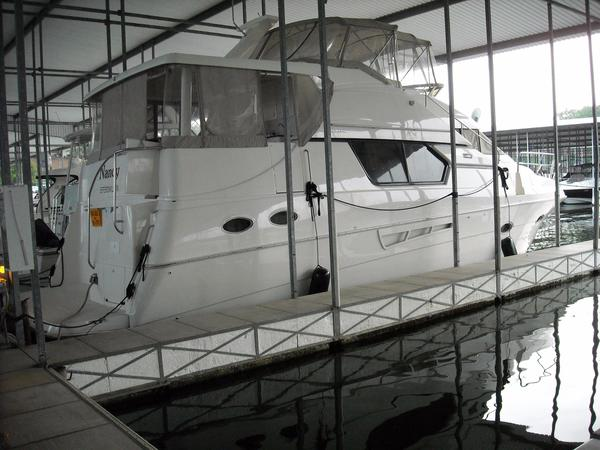 Used Silverton 453 Motor Yacht Aft Cabin Boat For Sale