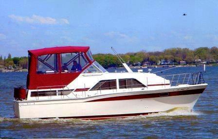 Used Chris Craft 350 Catalina Cruiser Boat For Sale