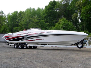 Used Black Thunder 46SC Sports Cruiser Boat For Sale
