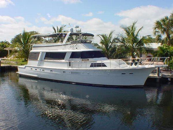Used Hatteras Cockpit Motoryacht Pilothouse Boat For Sale