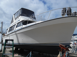 Used Mainship 36 Nantucket Sedan Convertible Fishing Boat For Sale