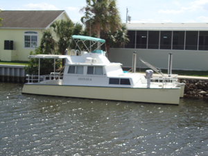 Used Power Cat 39 Custom Dive Boat For Sale