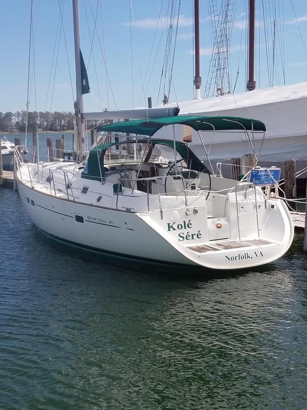 Used Beneteau 411 Cruiser Sailboat For Sale
