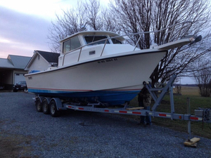 Used Parker 2820 XL Cuddy Cabin Boat For Sale