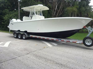 Used Sea Vee 32 Open - Just 75 Hours Center Console Fishing Boat For Sale
