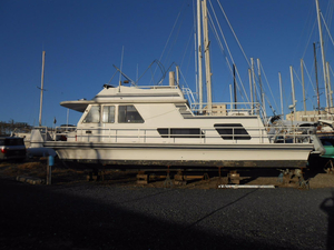Used Gibson 44 Cabin Yacht House Boat For Sale