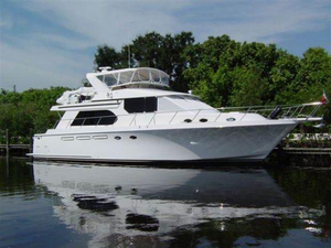 Used Ocean Alexander 548 Sport Sedan Pilothouse Boat For Sale