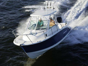 Used Trophy 2502 Walkaround Sports Fishing Boat For Sale