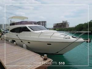 Used Ferretti Yachts 510 Motor Yacht For Sale