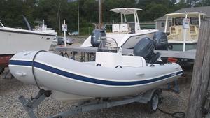 Used Mercury Marine Ocean Runner 430 Rigid Sports Inflatable Boat For Sale