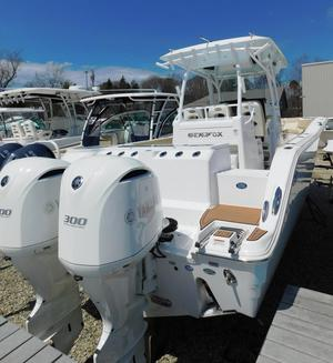 Used Sea Fox 328 Commander Center Console Fishing Boat For Sale
