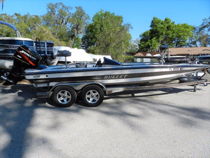 Used Bullet 21XD Bass Boat For Sale