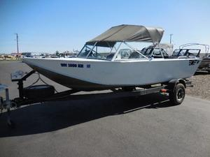 Used Duckworth 20 Silverwing Aluminum Fishing Boat For Sale