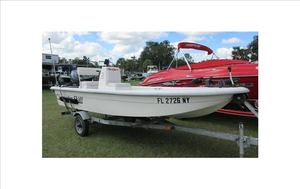 Used Clearwater 1600 Super Sport Center Console Fishing Boat For Sale