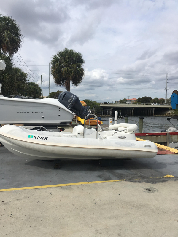 Used Aquascan F-14 Sprinter Tender Boat For Sale