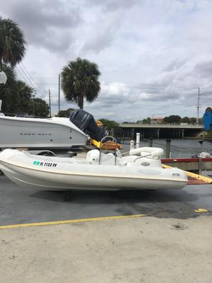 Used Aquascan F-14 Sprinter Tender Boat For Sale