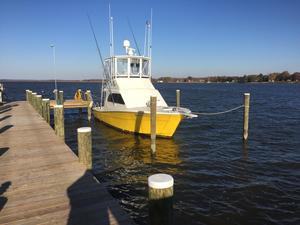 Used Topaz 37 Sportfisherman Convertible Fishing Boat For Sale