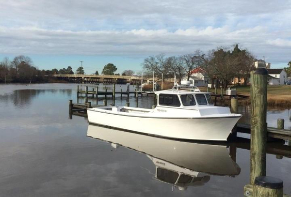Used Baybuilt/composite Chesapeake Bay Saltwater Fishing Boat For Sale