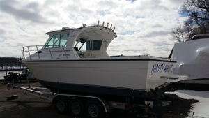 Used Baha Cruisers 270 GLE Pilothouse Boat For Sale