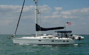 Used Hunter 40.5 Wing Keel Center Cockpit Sailboat For Sale