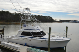 Used Bertram 42 Convertible Saltwater Fishing Boat For Sale
