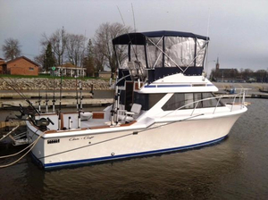 Used Chris Craft 315 Commander Sports Fishing Boat For Sale