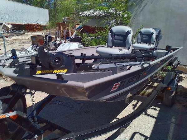 2016 used alumacraft crappie jon freshwater fishing boat for Best freshwater fishing boats