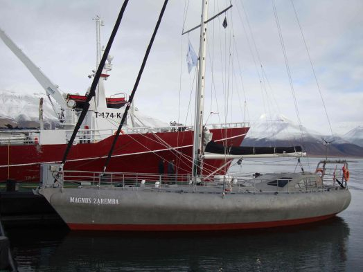 Used Custom Arctic Sailing Research Vessel Oceanographic Polar Scientific Motorsailer Sailboat For Sale