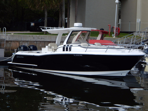 Used Belzona 327 Walk Around Center Console Fishing Boat For Sale